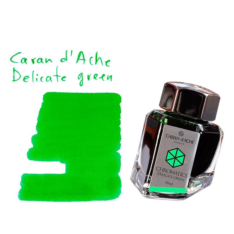 Caran d'Ache Delicate green