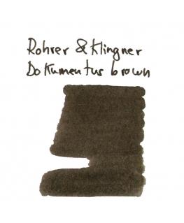 Rohrer & Klingner DOKUMENTUS BROWN (Vial 2 ml)