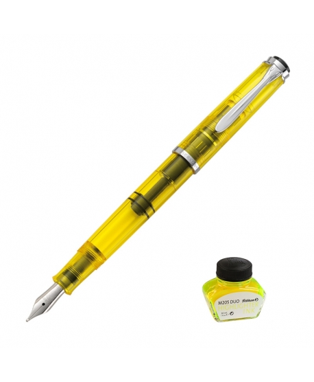 Pelikan Classic M 205 duo resaltadora amarilla
