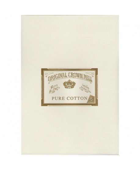 Original Crown Mill cotton A4