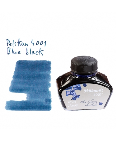 Pelikan 4001 BLUE BLACK (62.5 ml bottle of ink)