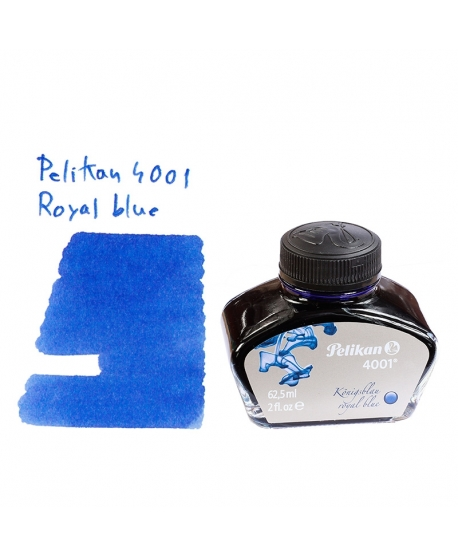 Pelikan 4001 ROYAL BLUE (62.5 ml bottle of ink)