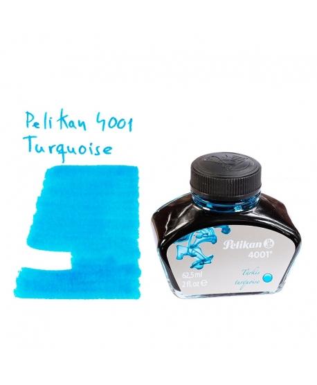 Pelikan 4001 TURQUOISE (62.5 ml bottle of ink)