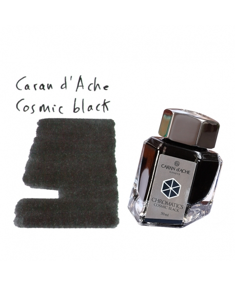 Caran d'Ache COSMIC BLACK (50 ml bottle of ink)