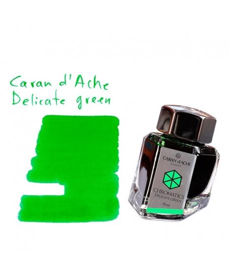 Caran d'Ache DELICATE GREEN (50 ml bottle of ink)