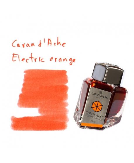 Caran d'Ache ELECTRIC ORANGE (50 ml bottle of ink)