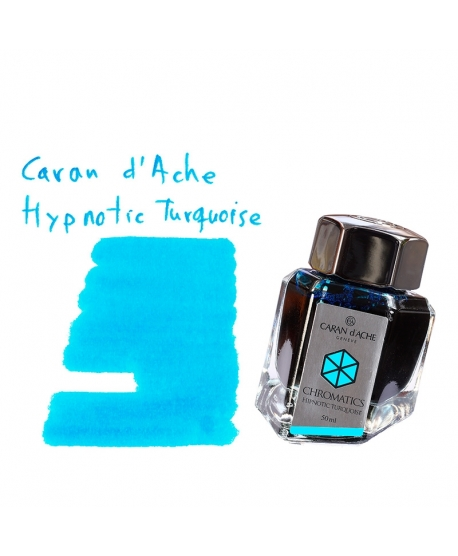 Caran d'Ache HYPNOTIC TURQUOISE (50 ml bottle of ink)