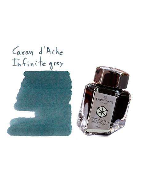 Caran d'Ache INFINITE GREY (50 ml bottle of ink)