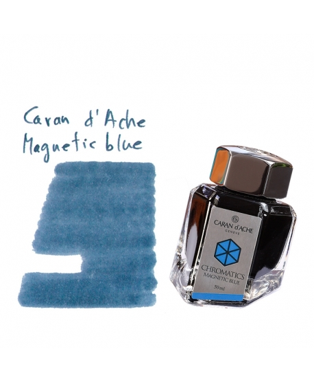 Caran d'Ache MAGNETIC BLUE (50 ml bottle of ink)