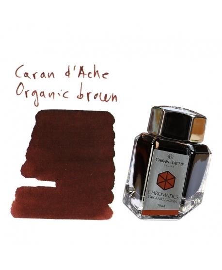 Caran d'Ache ORGANIC BROWN (50 ml bottle of ink)