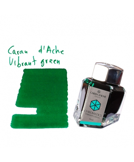 Caran d'Ache VIBRANT GREEN (50 ml bottle of ink)