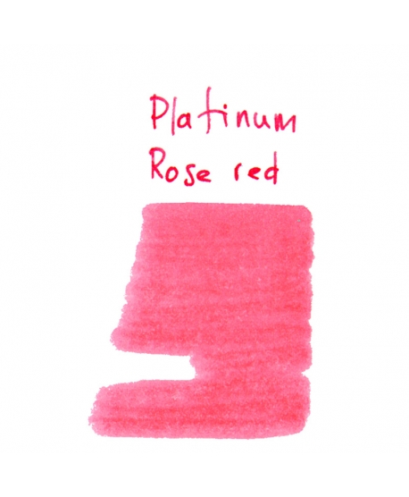 Platinum ROSE RED (2 ml plastic vial of ink)