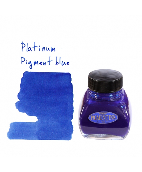Platinum PIGMENT BLUE (60 ml bottle of ink)