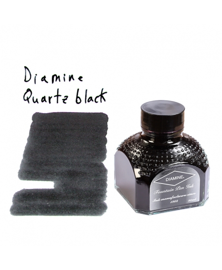 Diamine QUARTZ BLACK (Tintero 80 ml)