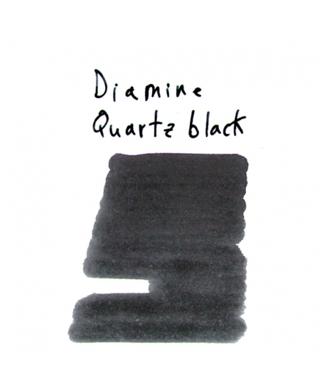 Diamine QUARTZ BLACK (2 ml plastic vial of ink)