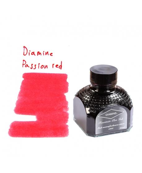 Diamine PASSION RED (Tintero 80 ml)