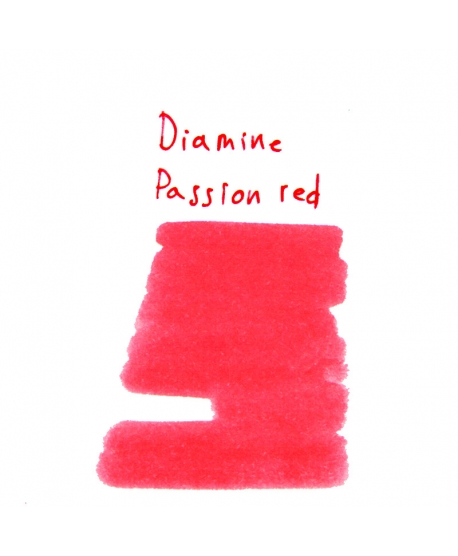 Diamine PASSION RED (2 ml plastic vial of ink)