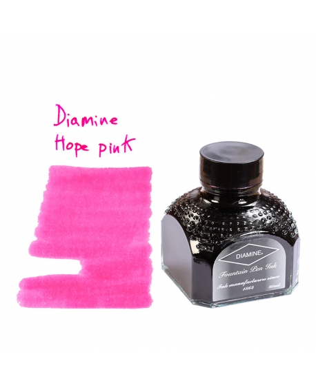 Diamine HOPE PINK (80 ml bottle of ink)