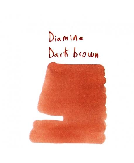 Diamine DARK BROWN (2 ml plastic vial of ink)