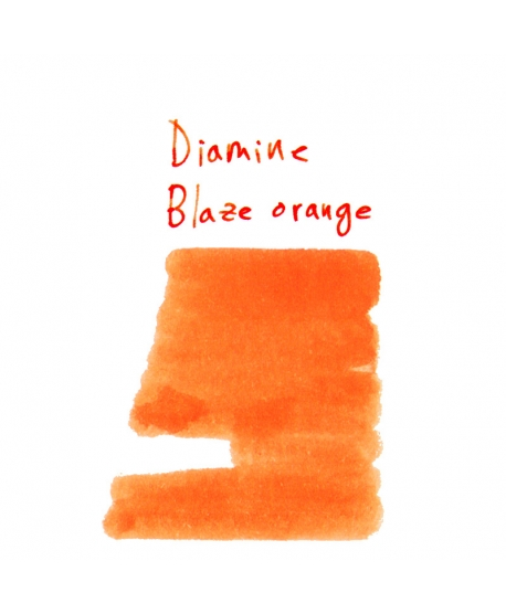 Diamine BLAZE ORANGE (2 ml plastic vial of ink)