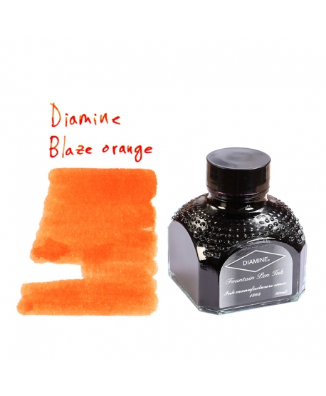 Diamine BLAZE ORANGE (80 ml bottle of ink)