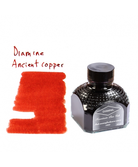Diamine ANCIENT COPPER (80 ml bottle of ink)