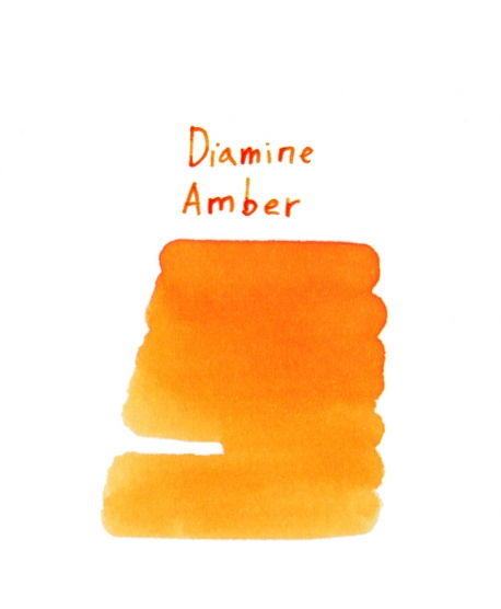 Diamine AMBER (2 ml plastic vial of ink)