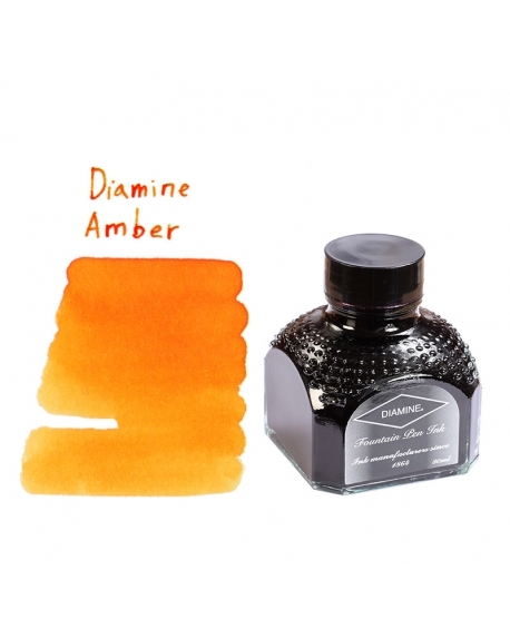 Diamine AMBER (Bouteille d' encre 80 ml)