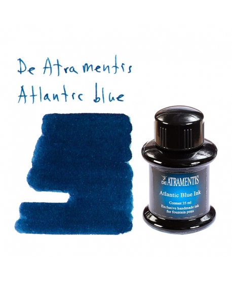 De Atramentis ATLANTIC BLUE (35 ml bottle of ink)