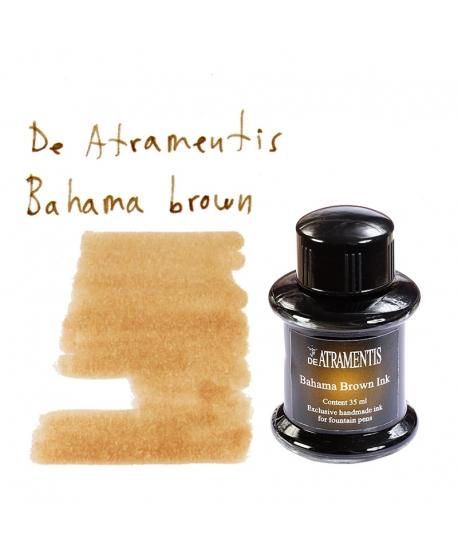 De Atramentis BAHAMA BROWN (Tintero 35 ml)