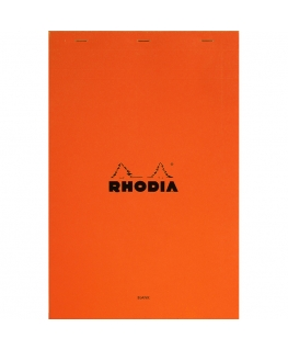 Rhodia n.º 19 Bloc A4+  orange plain