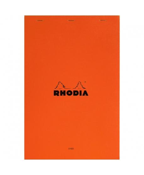 Rhodia nº 19 Bloc A4+ naranja rayado