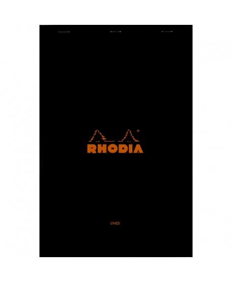 Rhodia n.º 19 Bloc A4+ black lined