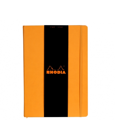 Rhodia Webnotebook A4 orange lined