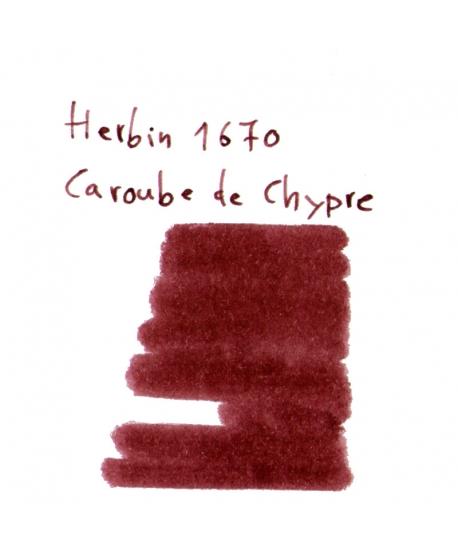 Herbin 1670 CAROUBE DE CHYPRE (2 ml plastic vial of ink)