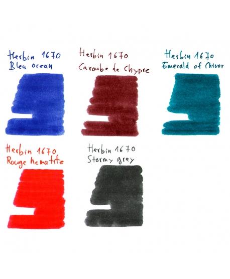 Groupe d'échantillons HERBIN 1670 (gamme complète)
