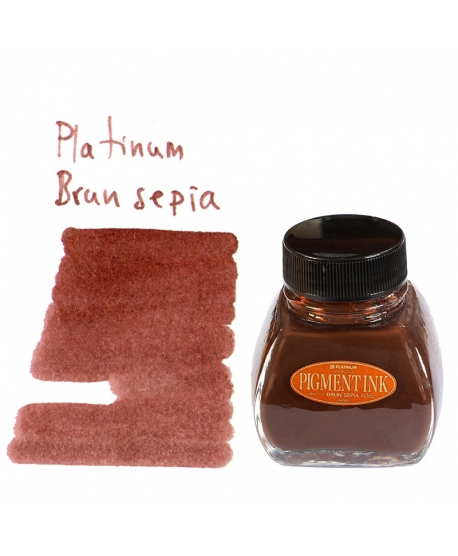 Platinum BRUN SEPIA (60 ml bottle of ink)