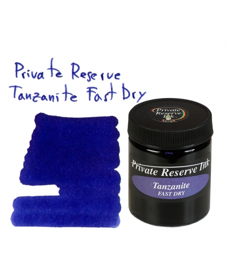 Private Reserve TANZANITE FAST DRY (66 ml bottle of ink)