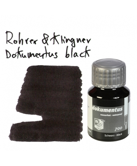 Rohrer & Klingner DOKUMENTUS BLACK