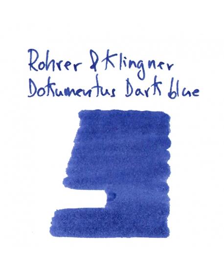 Rohrer & Klingner DOKUMENTUS DARK BLUE (2 ml plastic vial of ink)