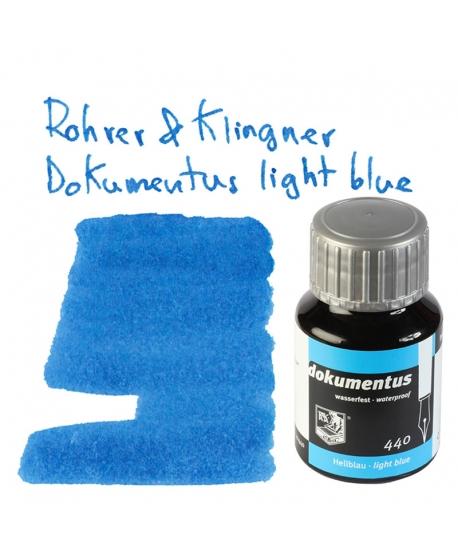 Rohrer & Klingner DOKUMENTUS LIGHT BLUE (Tintero 50 ml)