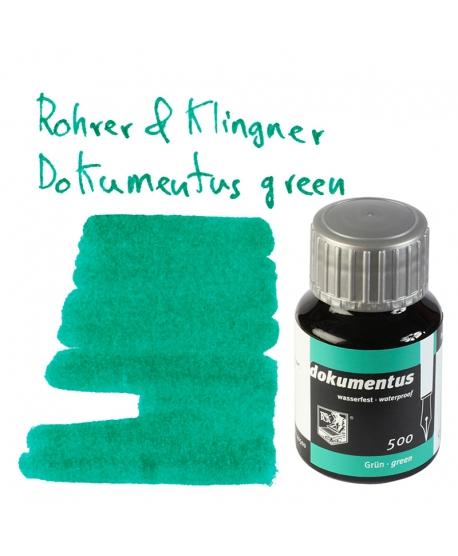 Rohrer & Klingner DOKUMENTUS GREEN (Tintero 50 ml)