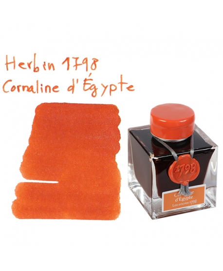 Herbin 1798 CORNALINE D'ÉGYPTE (50 ml bottle of ink)