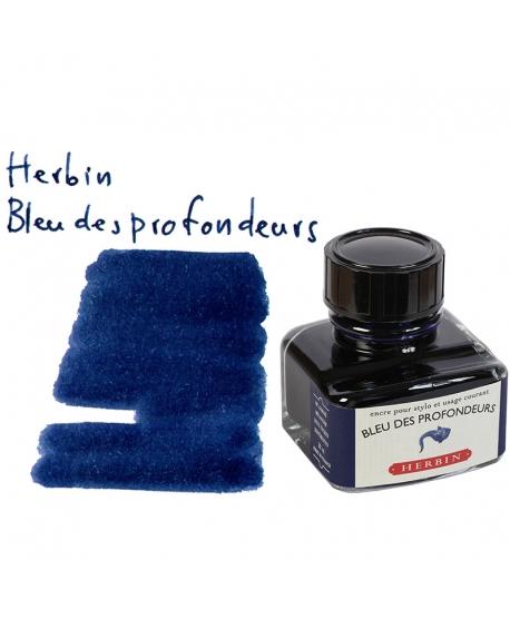 Herbin BLEU DES PROFONDEURS (Bouteille d'encre 30 ml)