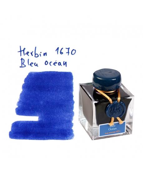 Herbin 1670 BLEU OCEAN (Tintero 50 ml)