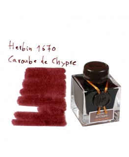 Herbin 1670 CAROUBE DE CHYPRE (Bouteille d'encre 50 ml)