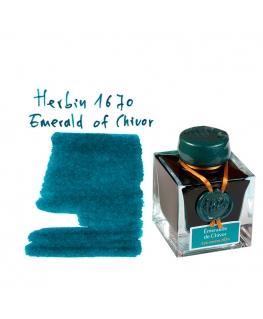 Herbin 1670 EMERALD OF CHIVOR (Bouteille d'encre 50 ml)