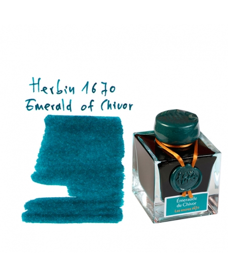 Herbin 1670 EMERALD OF CHIVOR (Tintero 50 ml)