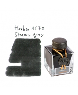 Herbin 1670 GRIS ORAGE (Bouteille d'encre 50 ml)