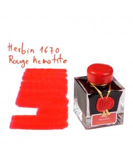 Herbin 1670 ROUGE HEMATITE (Bouteille d'encre 50 ml)